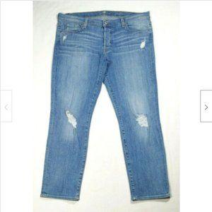 7FAM Women Josefina Skinny Boyfriend Jeans 3397E1M